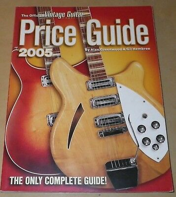 Official Vintage Guitar Mag Price Guide Photos Details Value Gibson Fender 2005