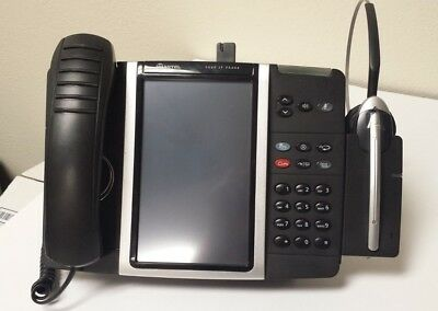 MITEL 5360 IP Phone w/ Cordless Headset & Charger Attachment
