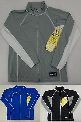 DuckSkinz ZIP FRONT JACKET UNISEX BEACH SURF SAILING UV & H2O ARMOR RASH GUARD