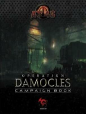 Rackham AT-43 Operation Damocles Campaign Book SC EX