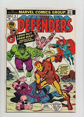 The Defenders #9 Avengers Crossover (Marvel 1973) VF/NM 9.0 Sharp Copy