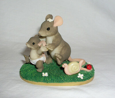 Charming Tails Together Every Step of the Way Figurine Mouse Fritz Lloyd 89/104