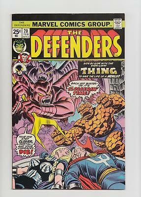The Defenders #20 (Marvel 1975) NM- 9.2 Sharp Copy