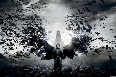 Dracula Untold Evans - CANVAS PRINT READY TO HANG or ROLLED FROM A4