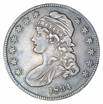 1834 Capped Bust Half Dollar - Circulated *6081