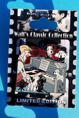 Walt's Classic Collection 101 Dalmatians Roger Playing the Piano Disney Pin