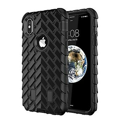 iPhone X Case,TACOO Dual Layer TPU+PC Heavy Duty Protective Durable Rugged An...