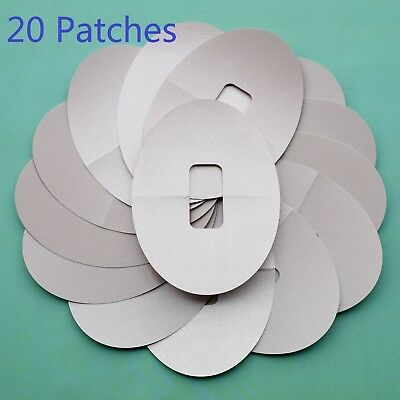 20 pieces Ultra-Thin Adhesive Patches Pre Cut fits for Dexcom G4 G5 Nude Color