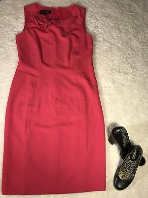 b00cf02bd3d Black Label By Evan-Picone Pink Dress With Flower Size 8