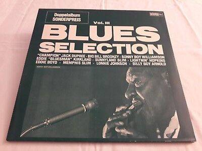 Various: Blues Selection Vol. III (2 LP Album) [no year (1978), Germany]