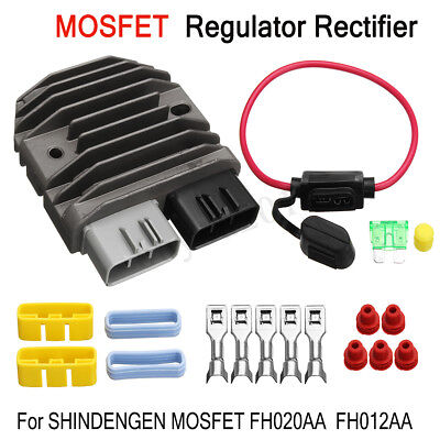 FH020AA MOSFET Regulator + Rectifier Upgrade Kit Replace For SHINDENGEN FH012AA