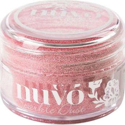 Nuvo Sparkle Dust .5oz - Rose Quartz (CLEARANCE ITEM)