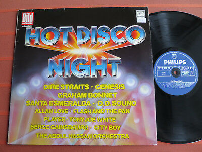 """HOT DISCO NIGHT – 12""""Vinyl-LP – Abdul Hassan Orchestra/Flash and the Pan – Top"""