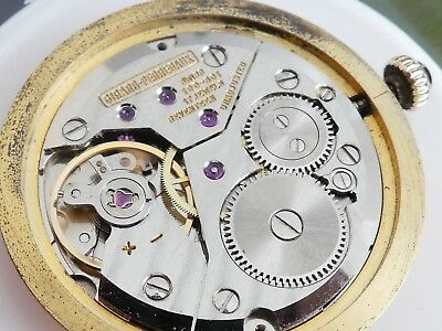 movement girald perregaux 100-801 with Dial  working good (K197)