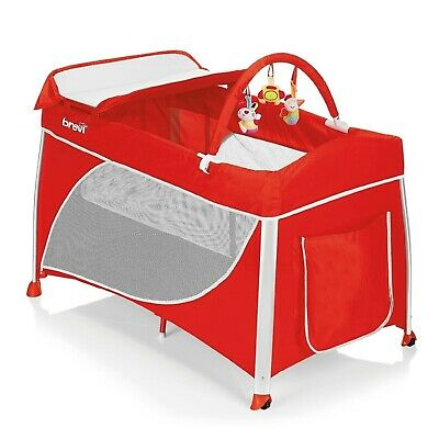 Cot camping Brevi Dolce Sogno Red