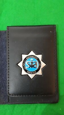 Sia security badge holder id wallet