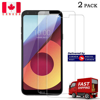 2X Pack - For LG Q6  - Tempered Glass Guard Guard Film Sreen  Protection