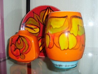 Three Items Of Poole Pottery@@@