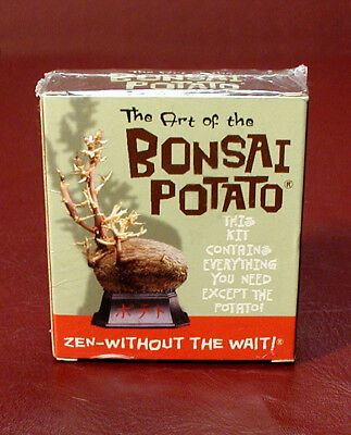 The ART OF THE BONSAI POTATO (Mini Kit) Running Press Display & Book Set SEALED