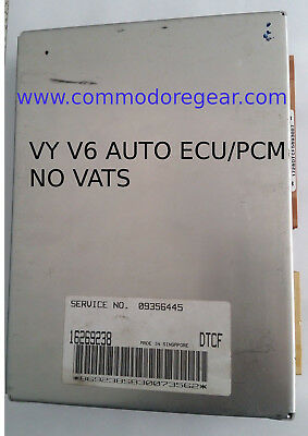 VU, VX and VY V6 - ECU / PCM with the VATS REMOVED.Manual or Auto.