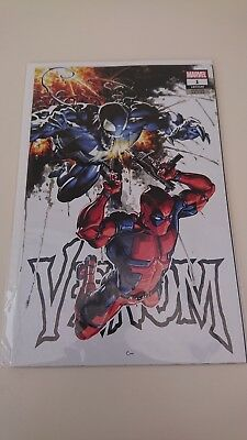 Venom #1 Clayton Crain Trade Dress Variant New Bagged And Boarded