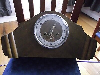 very old mantle  clock enfield made in  england