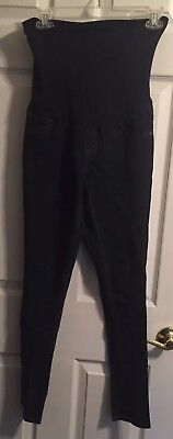 Motherhood Maternity Size Small Wide Belly Band Skinny Jeans, EUC