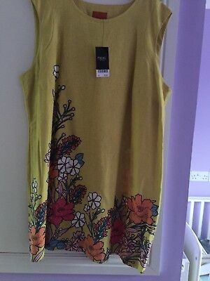 Bnwt Linen Dress Next Size 22
