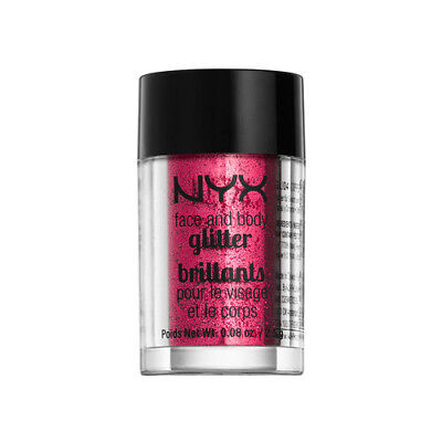 NYX Face & Body Glitter - 09 Red (Free Ship)