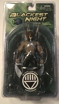 "Blackest Night BLACK LANTERN HAWKMAN 6"" Action figure DC DIRECT UNIVERSE SERIES"