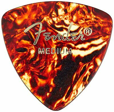Fender 346 Classic Celluloid Guitar Picks - SHELL - MEDIUM - 72-Pack (1/2 Gross)