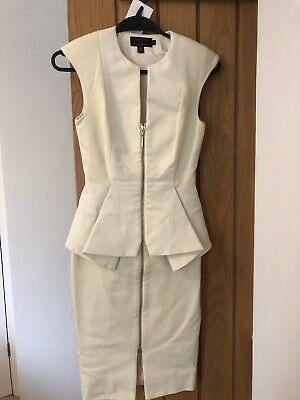 Ted Baker Cream Dress Size 0