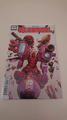 Deadpool #2 variant 2018 new bagged and boarded.