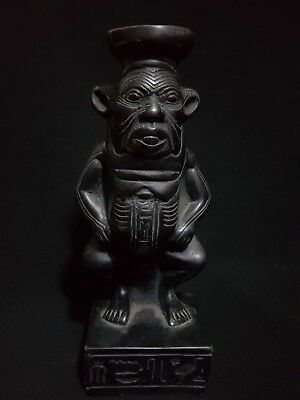 Rare Ancient Antique Egyptian God Of Bes  Bc
