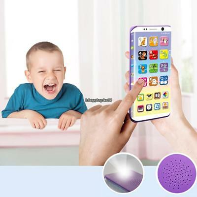 Kids Baby Multi-Functional Early Educational Toy Sound Music Phone Toy EH7E