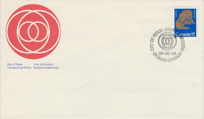 Canada #856 17¢ Helping Hands First Day Cover