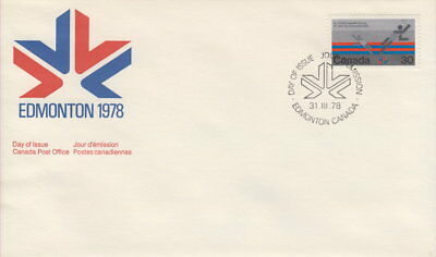 Canada #758 30¢ Commonwealth Games First Day Cover