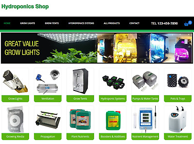 Hydroponics Business for sale | Wholesale Suppliers & Website | Very Profitable