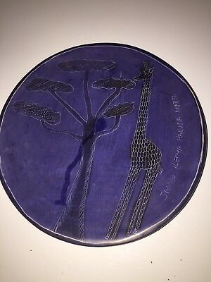 Beautiful African Pottery Plate