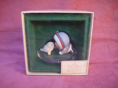 Frosty Friends 1983 Hallmark Ornament In the Box 4th In The Collection