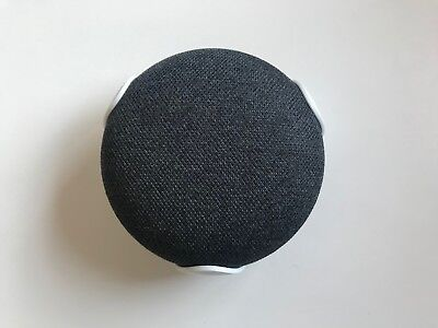 Google Home Mini Wall mount Bracket, Charcoal Grey , High quality moulded part.
