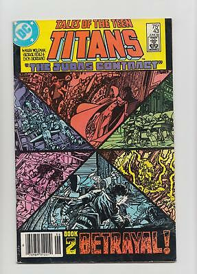 Tales of the Teen Titans #43 Mark Jewelers Insert Variant (DC 1984) FN- 5.5