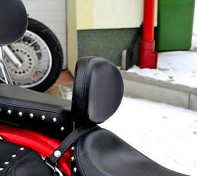 Driver Rider Backrest Yamaha Xvs 650 Drag Star (V-Star 650), Classic & Custom