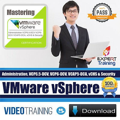 Mastering VMware vSphere Video Training 8 Course Bundle Pack DOWNLOAD