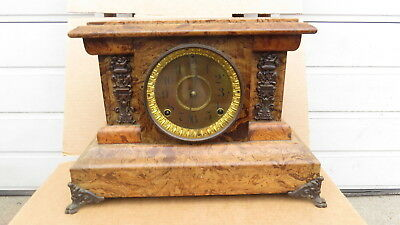 Seth Thomas Grain painted Mantle clock
