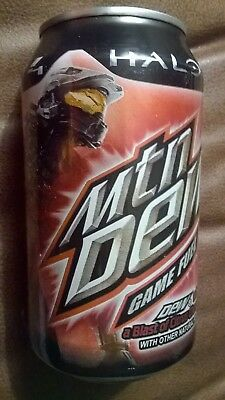 One Can of Mountain Dew Halo 4 Game Fuel.