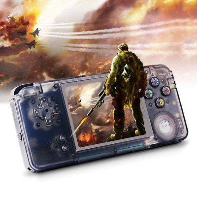 "Portable Handheld Game Console Video 3"" TFT Screen Classic Hand 818 Games 64 Bit"
