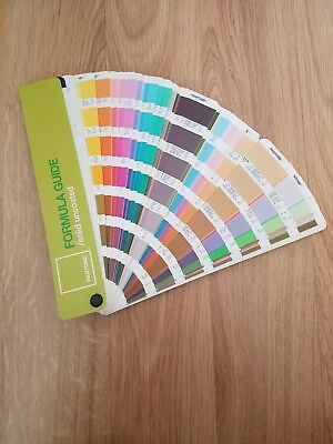 Pantone Formula Color Guide Solid Uncoated Fourth Edition