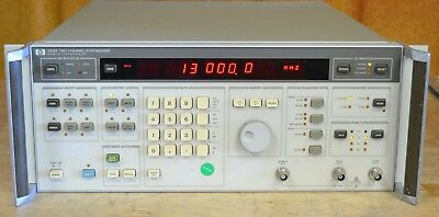 HP Agilent 3326A Dual Channel Synthesizer, DC to 13MHz, Tested GOOD