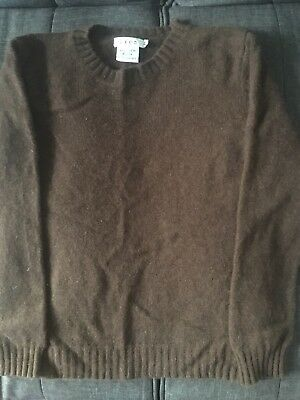 Boys Size 6 Cashmere Brown Sweater Made In France